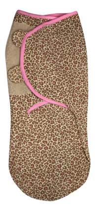 Конверт на липучке swaddleme, размер l, леопард