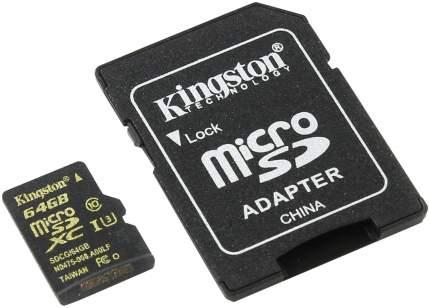 Карта памяти Kingston Micro SDXC Gold Series 64GB