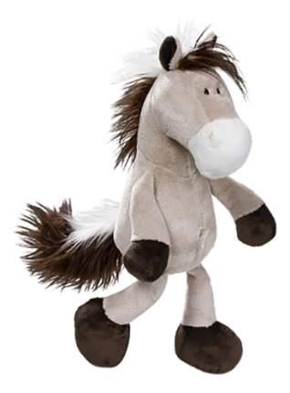 Мягкая игрушка NICI Лошадь серо-бежевая, сидячая, 35 см