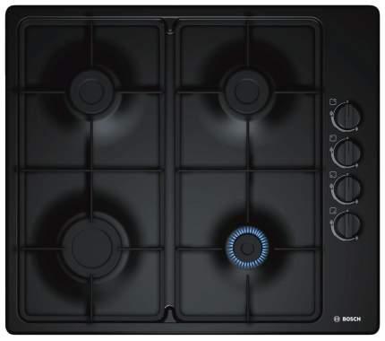 Встраиваемая варочная панель газовая Bosch PBP6B6B60 Black