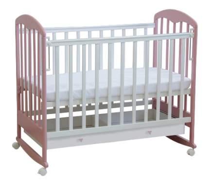 Кровать-качалка детская Фея 325 Белая-Магнолия