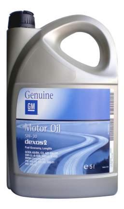 Моторное масло General Motors 5w30 5л 1942003