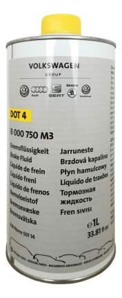 Тормозная жидкость VAG 1л B000750M3