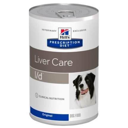Консервы для собак Hill's Prescription Diet Liver Care l/d, мясо, 12шт, 370г