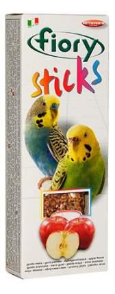 Лакомство для попугаев fiory палочки с яблоком, 60г