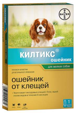 Ошейник BAYER kiltix для собак 38см kiltix