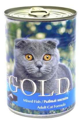 Консервы для кошек NERO GOLD, рыба, 12шт, 810г