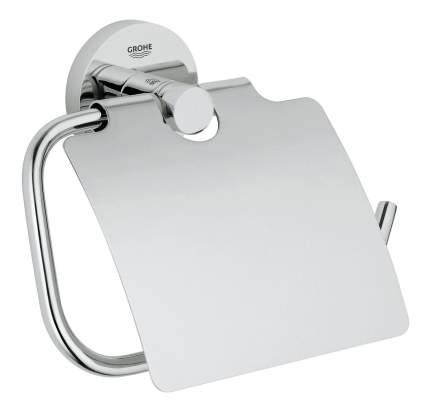 Держатель туалетной бумаги GROHE Essentials с крышкой, хром