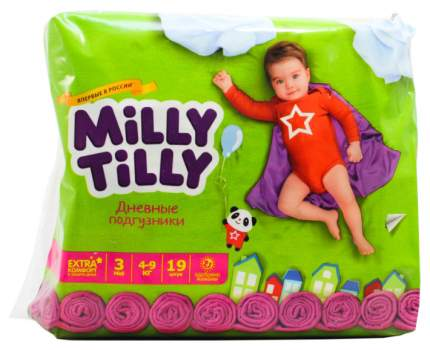 Подгузники Milly Tilly Midi 3 (4-9 кг), 19 шт.