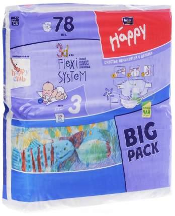 Подгузники Bella Baby Happy Midi 3 (5-9 кг), 13 шт.