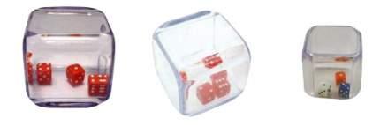 Семейная настольная игра Pandora's Box 3 кубика в кубике 2 шт.