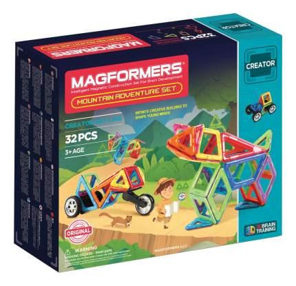 Конструктор магнитный Magformers Adventure Mountain 32 детали