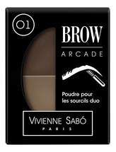 Тени для бровей Vivienne Sabo Brow Arcade тон 01