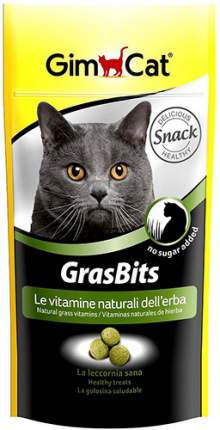 Лакомство для кошек GIMCAT GrasBits с травой, 40г