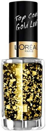 Верхнее покрытие для ногтей L'OREAL PARIS Top Coat, тон 920 Золотые листья, 5 мл
