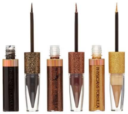 Набор для макияжа глаз Shimmer Strips Kajal+Liquid Liner Trio - Glam Nude Eyes