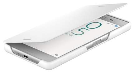Чехол Sony Cover Flip SCR58 для Sony Xperia X Perf Белый