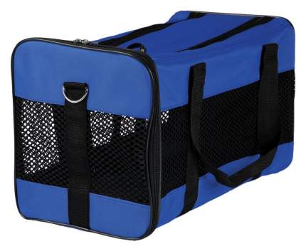 Сумка-переноска для домашних животных TRIXIE Jamie, черно-синяя, 52x30x30 см