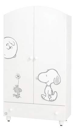 Шкаф детский Baby Expert Snoopy белый/серебро