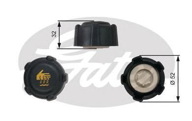 Gates RC223 Крышка радиатора
