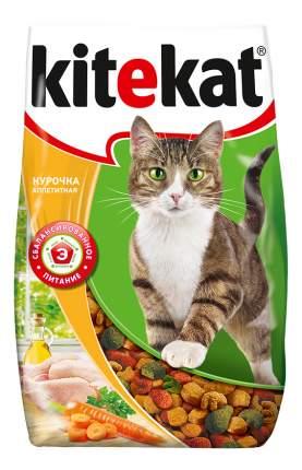 Сухой корм для кошек Kitekat, аппетитная курочка, 10шт по 800г