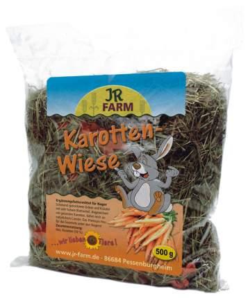 Сено для грызунов Jr Farm с добавлением моркови 0.5 кг 1 шт