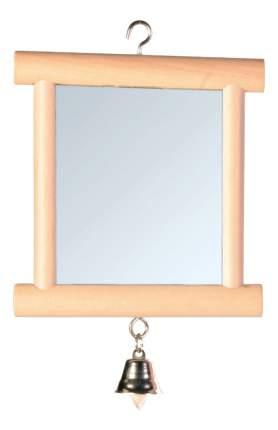 Зеркальце для птиц Trixie, Дерево, Металл, 9x10см
