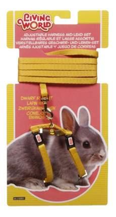 Поводок и шлейка Hagen для кроликов, желтый