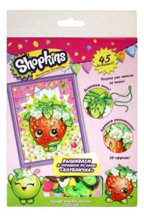 Вышивка для детей Shopkins Клубничка