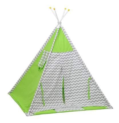 Игровая палатка Polini Зигзаг, зеленый