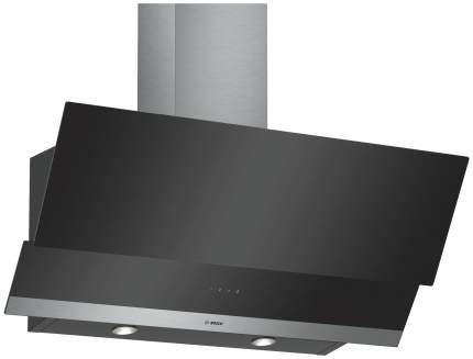 Вытяжка наклонная Bosch DWK095G60R Black/Silver