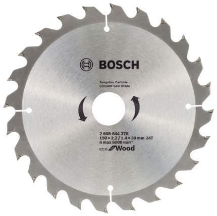 Пильный диск по дереву Bosch ECO WO 190x30-24T 2608644376