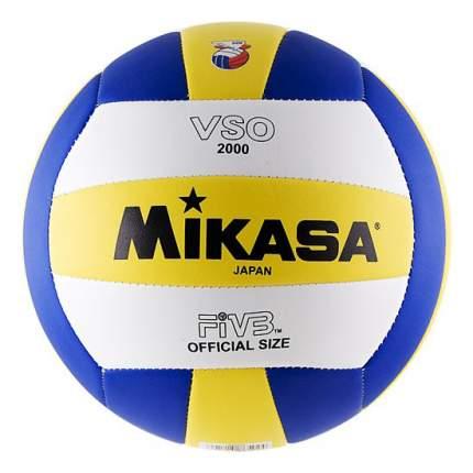 Волейбольный мяч Mikasa VSO2000 №5 blue/yellow