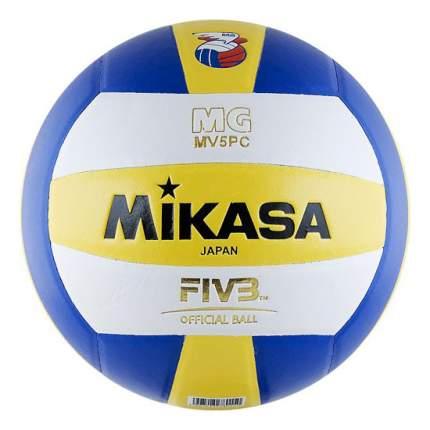 Волейбольный мяч Mikasa MV5PC №5 blue/white/yellow