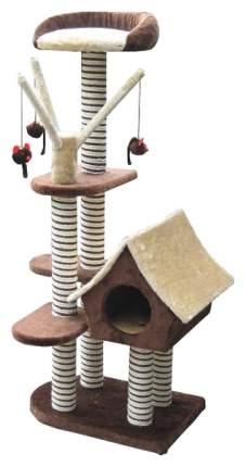 Комплекс для кошек SAGRADA Игровая площадка, цвет в ассортименте 128х54см