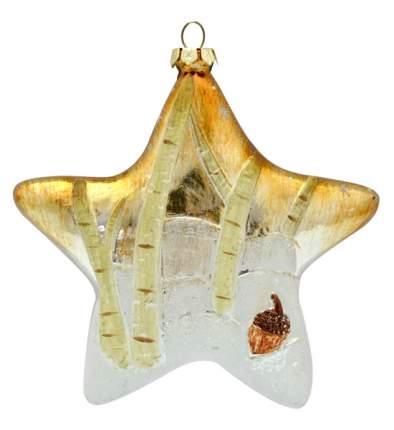 Елочная игрушка Winter Wings Звезда 12 см пластик