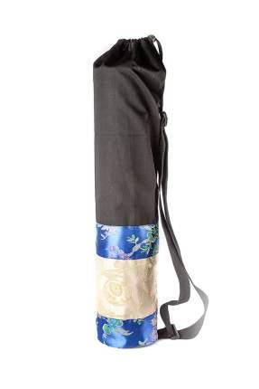 Чехол для йоги RamaYoga Гейша, черный/синий