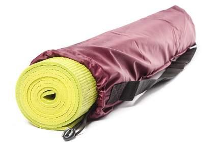 Чехол для йога-коврика RamaYoga Симпл без кармана 667673 80 см красный