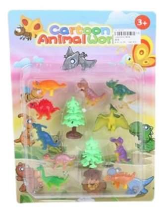 Игровой набор Shantou Gepai Динозавры с аксессуарами 10 шт 3834