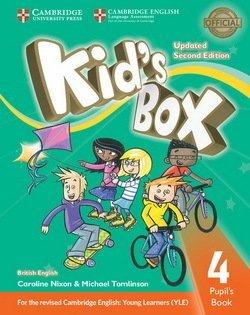 Kid's Box Upd 2Ed 4 PB