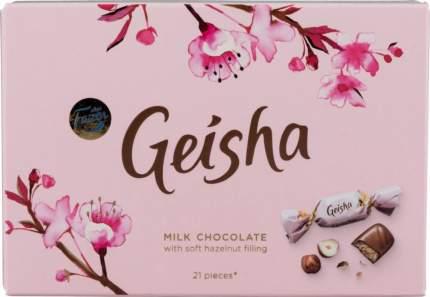 Конфеты шоколадные Geisha с начинкой из тертого ореха 150 г