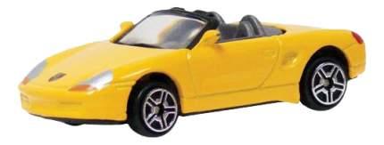 Коллекционная машинка Porsche Boxster, желтая