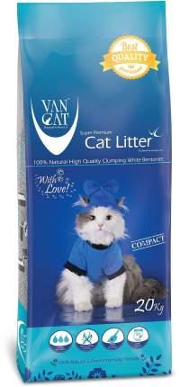 Наполнитель Van Cat комкующийся 20 кг без запаха