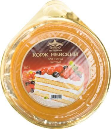 Корж для торта бисквитный Невский Виадук светлый 400 г