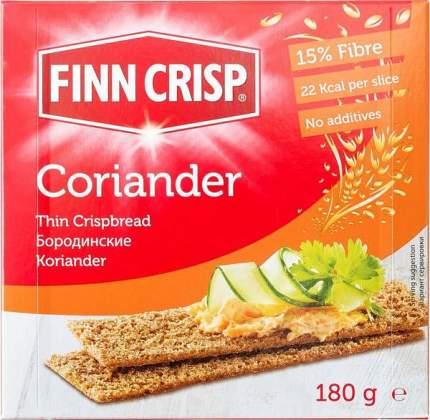 Сухарики Finn Crisp бородинские 180 г