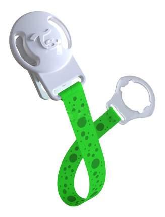 Держатель для пустышки Twistshake Клипса зеленая
