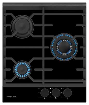 Встраиваемая варочная панель газовая Zigmund & Shtain MN 135.451 B Black