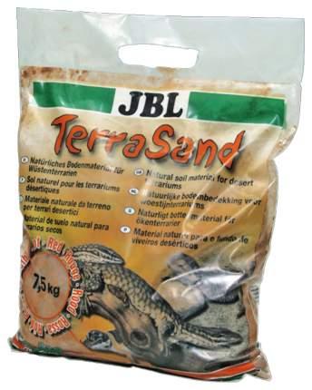 JBL Донный грунт для сухих террариумов, цвет натуральный красный, 5 л