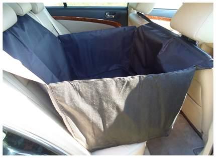 Автогамак для перевозки собак с мягкой защитой дверей 1/2 сидения(черный)