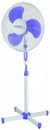 Вентилятор напольный Scarlett SC-SF111B10 white/violet